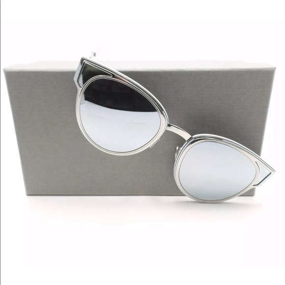 0e197530c73 Dior Accessories - Dior Sculpt mirrored reflective silver sunglasses